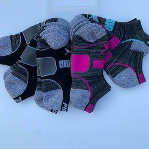 Puma Moisture Control No Show Socks Multi-Color
